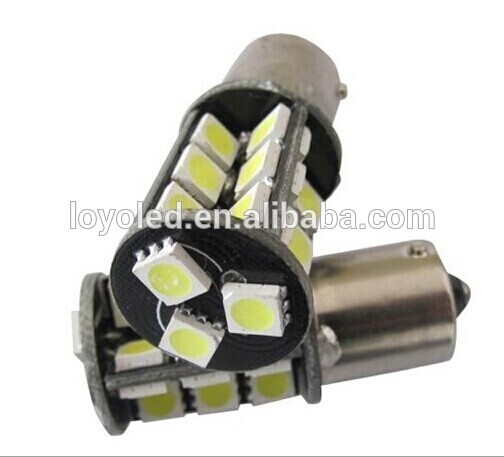 Wholesale 1156 1157 base light 27 lights 12V DC led car light interior
