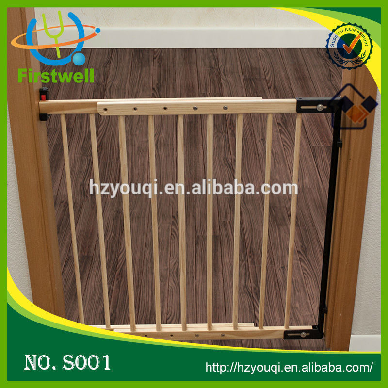 Extra Wide Auto Close Security Gate Baby Folding Gate