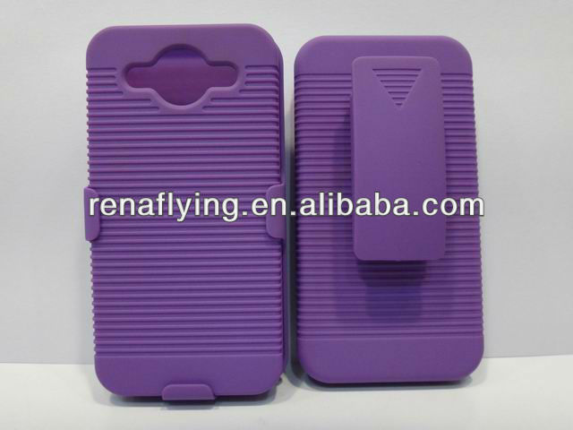 2013 hot sell phone combo holster case for huawei m886