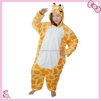 Giraffe cotton pajama animal pijama pyjama femme