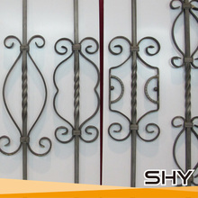 Low MOQ wrought iron prefab baluster