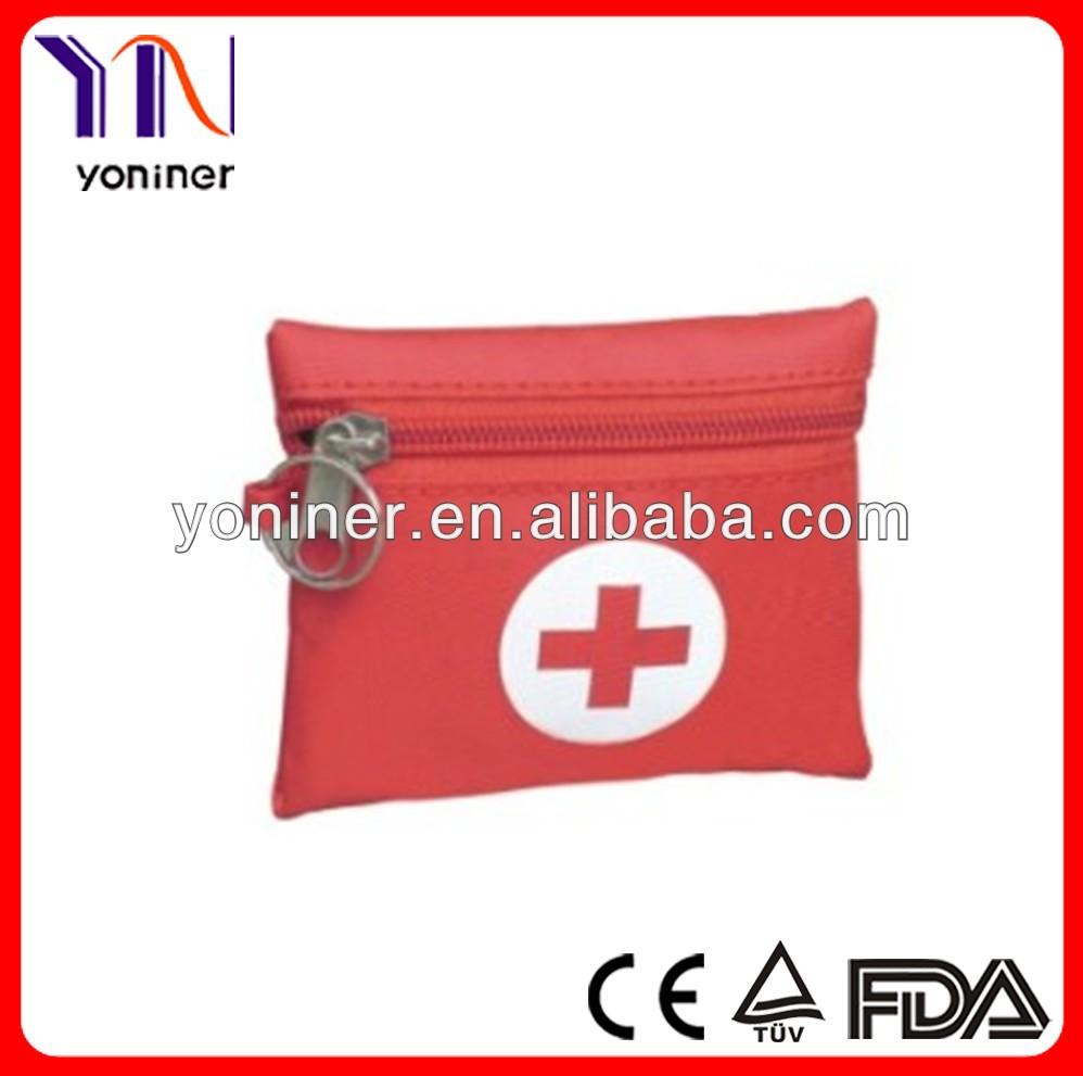 Medical red small first aid kit
