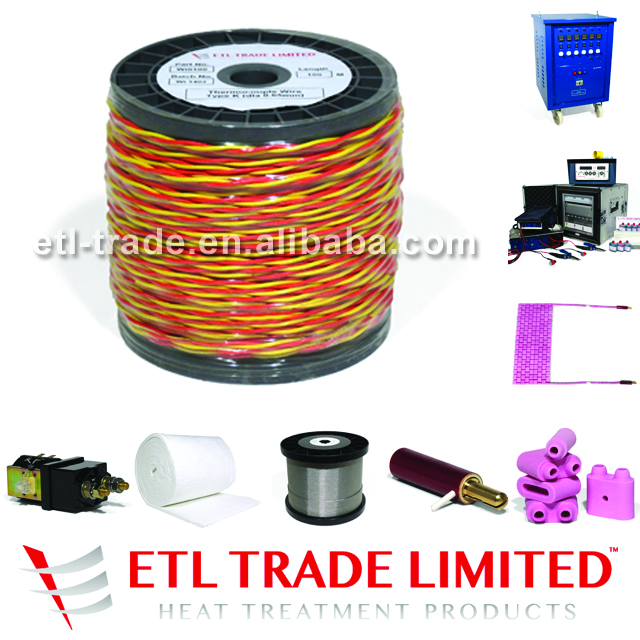 Type K Thermocouple Wire 2 x 0.65mm NiCr / NiSi / Red and Yellow