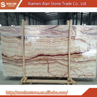 Wholesale Products China Red Dragon Onyx Marble Polished Slab Price