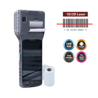 Android pos printer, 1D or 2D barcode scanner/HF UHF RFID/fingerprint is available if necessary