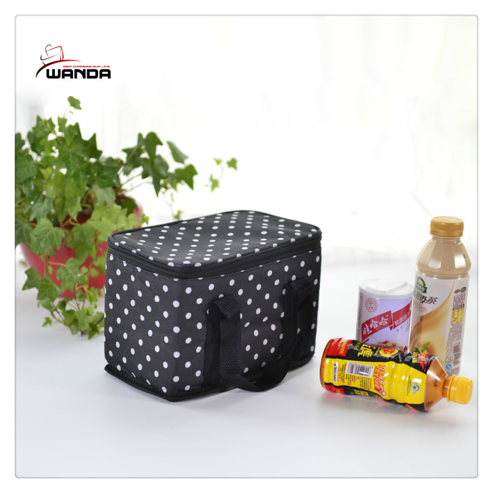 Wholesale thermal insulated cooler lunch bag for kids / Insulating effect cooler bag