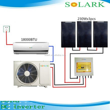 eco friendly solar air conditioner split system