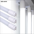 China supplier T8 2ft 4ft 9w 18w Glass LED Tube for Waterproof fixture