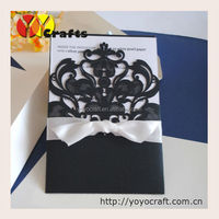 "Wedding Decoration card, laser cut""love bird""invitation cards from YOYO crafts various colors and designs"