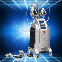 4 Cryo Handles Fat Freezing Machine / Cryotherapy Weight Loss Machine / Slim Freeze Belt For Salon Clinic Use