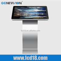 hot selling 47 inch all in one pc horizontal standing multi touch screen video game kiosk for sales