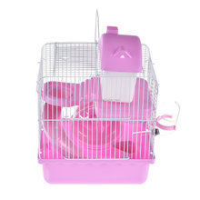 Hot sale home and garden wire mesh hamster cage plastic for sale