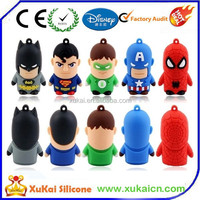 Creative 3D Cartoon Usb Flash drive Rubber Usb flash disk