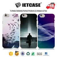 Stylish mobile phone back cover custom cheap 3D plastic PC hard accessories beautiful free sample minion case for iphone 6splus