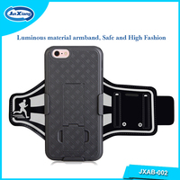 Factory Custom Design Gift Keep Fit Fitness PVC+ Neoprene Smartphone Armband for iPhone 6 Plus