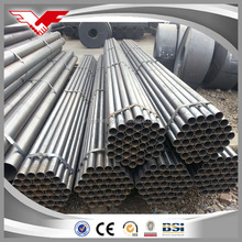 Tianjin youfa Black paint coating erw steel pipe/tube