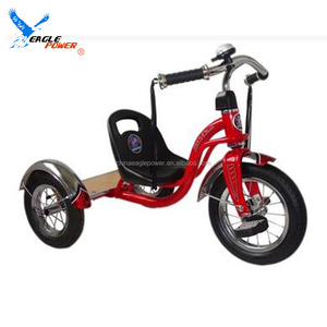 Factory modern metal children baby tricycle with tassels