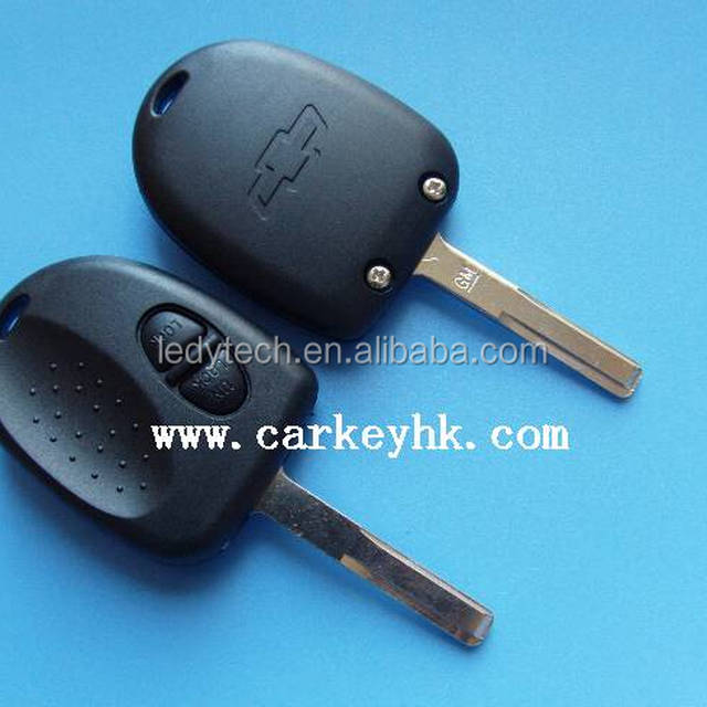 with logo for Cheverolet Holden car 2 button remote key case shell, car key blank