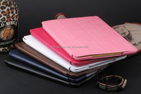 full color Pure leather case for ipad