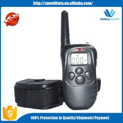 Hot Selling 100 Correction Levels 4 in 1 Remote Wholesale Pet Dog Training 998D