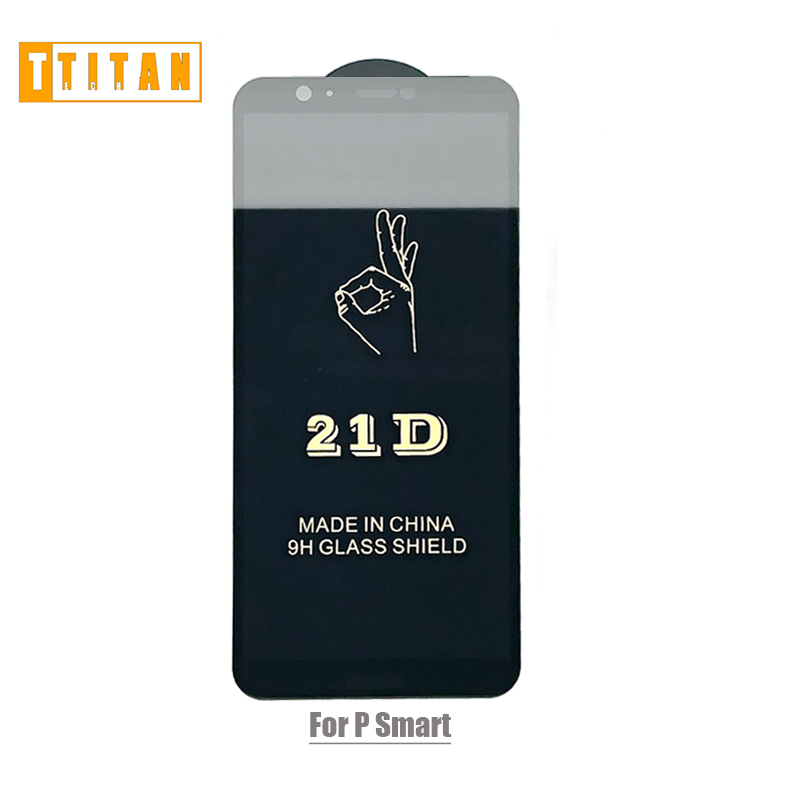 NEW 21D 5D Glass fullcover Edge To Edge Screen Protector For y5 2018 psmart iPhone X 10 Full Coverage Tempered GlassFOR