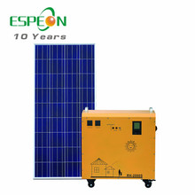 Complete home solar energy system price 1kw 2kw 3kw all-in-one solar generator