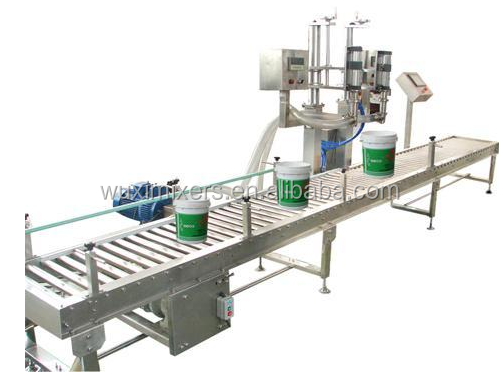 PF Auto Best Quality Paint Weighing Filling Packaging Machine