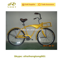 "SH-B086 26"" Beach Bike with Front Carrier"