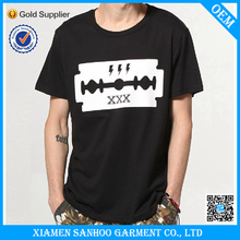 Classic Summer Blank Branded T Shirt Low Moq Silk Screen Printing For Me Low Moq Fast Delivery