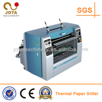 No Overlap Automatic Slitter Machine For Bank Receipt Paper Roll, Cash Register Paper Slitter Rewinder