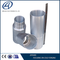 Forged electronic aluminum alloy cylinder, cylinder liner