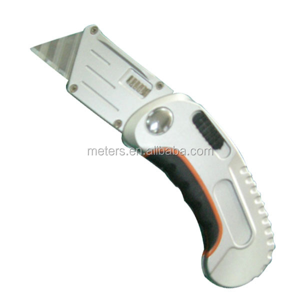 Stainless Steel Box Cutter Folding Sport Utility Knife