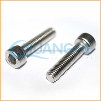 Alibaba selling high quality gr2 /gr5 titanium hex socket head cap screw for bicycle