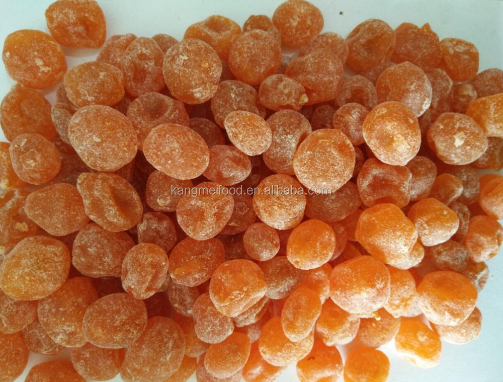 dried kumquat with sugar