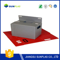 grid pp hollow plates for plastic box