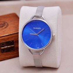 2014 new design stainless steel vogue face fashion lady watch