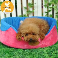 Outdoor Maroon cheap cute dog beds