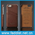 unique design case for iphone 6 back cover case with card holder genuine cow leather