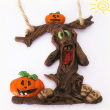 Tree Shaped Pumpkin Halloween Resin Gift