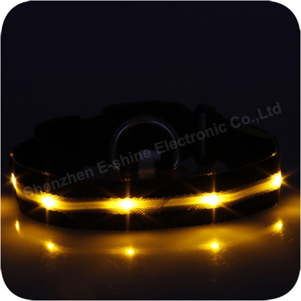Hot sale Mini Colorful Waterproof Led Dog Collar