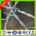 four points, continuous twist,2.5mm soft wire low barbed wire (ISO&CE&BV Certification)