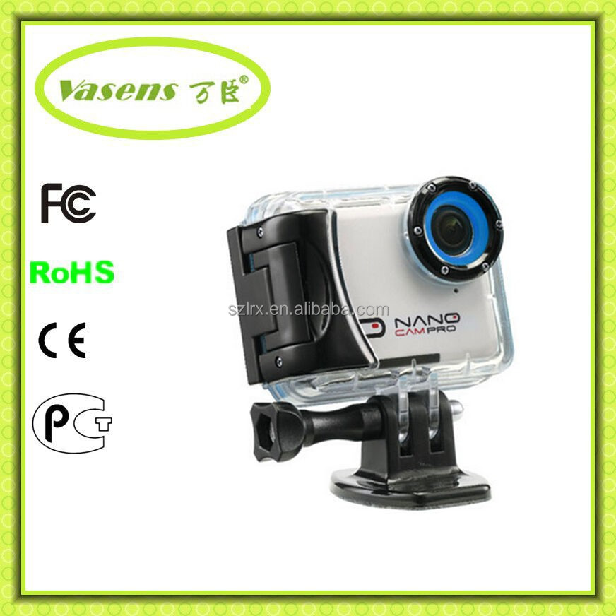 HOT video camera waterproof hd H3 WIFI 4K action camera sports camera go pro dual lcd