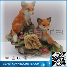 < Custom Accept> Resin Fox, Fox figurine,Fox figure