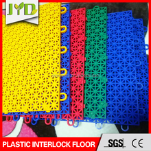 Classic Pattern Interlocking Portable Plastic outdoor sports flooring