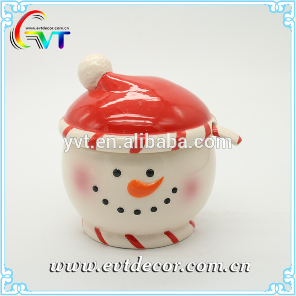 Factory direct sales ceramic bowl set with lid good quality