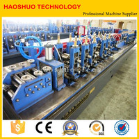 Automatic hot dip galvanized welded pipe machine Stainless Steel Pipe Flange welding machine