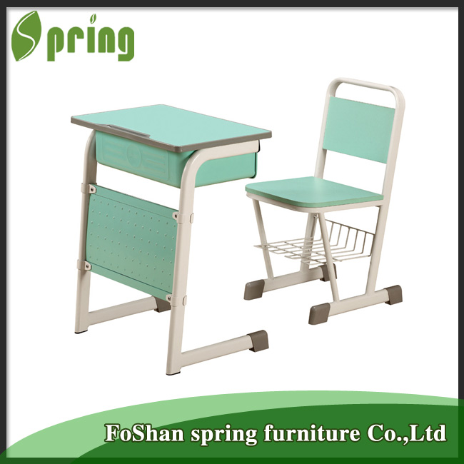 Kz 03 Middle School Attached School Desks And Chair Used Comfortable Kids  Desk And Chair For School   Buy Attached School Desks And Chair,Used School  Desk ...
