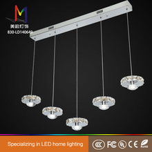 Plastic spiral crystal chandelier made in China