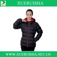 Fashion latest goose down jacket, woman down jacket for winters