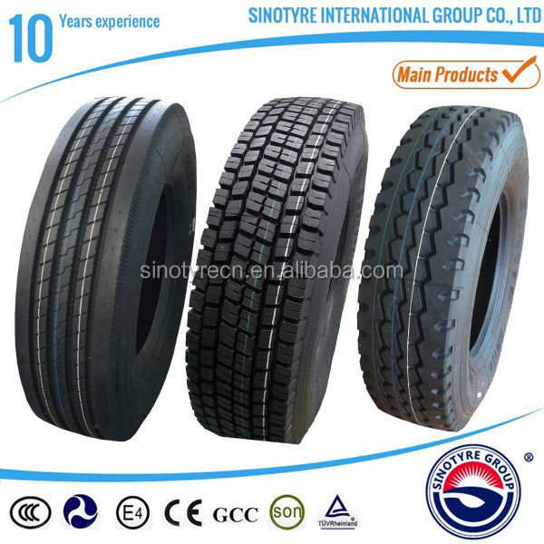 Truck tyres 1200R24 1200R20 1100R20 producer in China with GCC certificates for gulf area